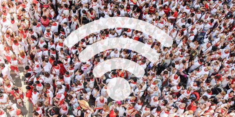 Ekahau WiFi Survey in a China office