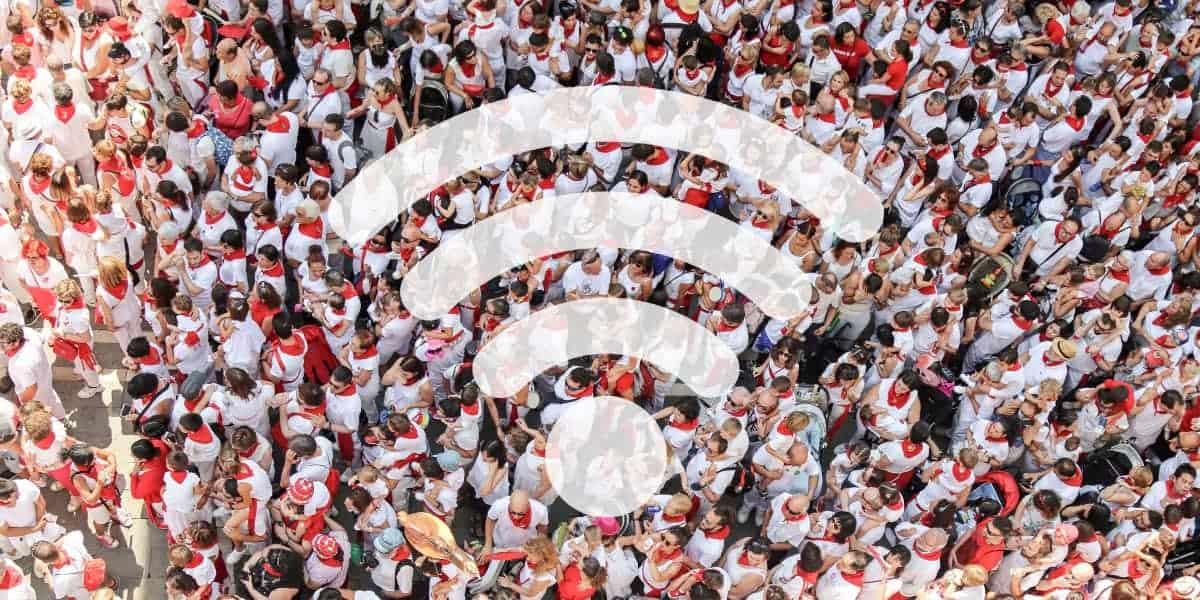 WiFi crowd