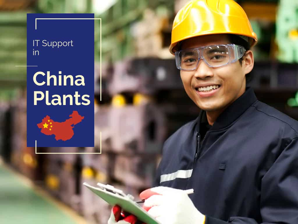 IT Outsourcing in China factories